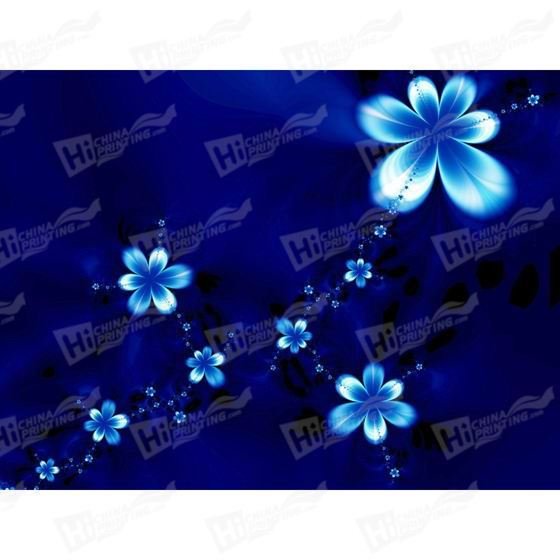 Blue Flower Canvas Printing