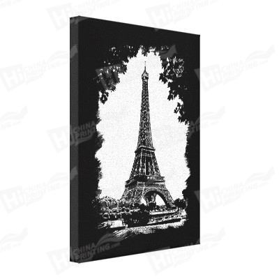 Eiffel Tower Canvas Printing
