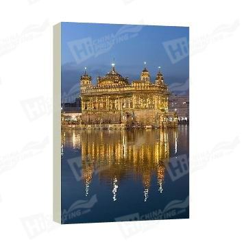 Golden Temple Canvas Printing