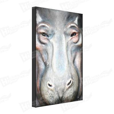Hippo Canvas Printing