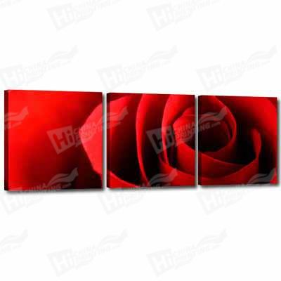 Red Flower Canvas Printing