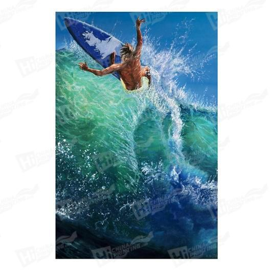 Surfing Canvas Printing