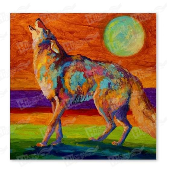 Wolf Canvas Printing