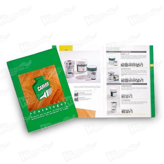 Folded Catalogue Printing for Promotion