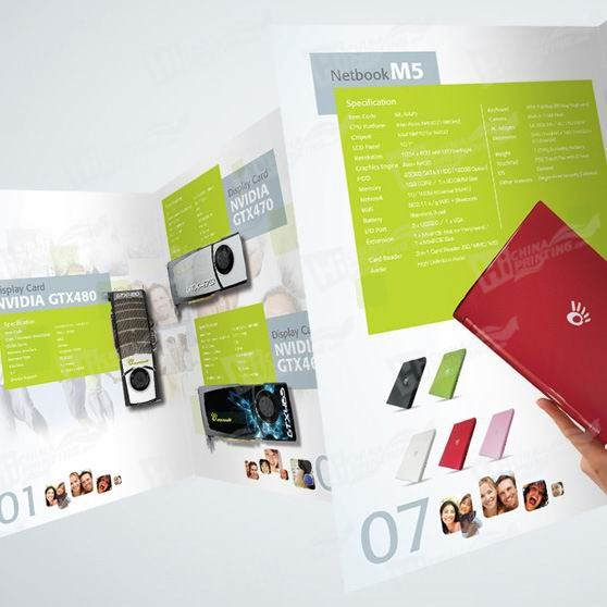 Full Color Catalogue Printed with Art Paper