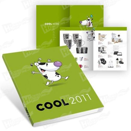 OEM Softcover Catalogue Printing
