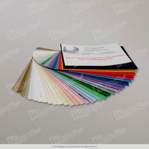 Coloured Paper Envelopes