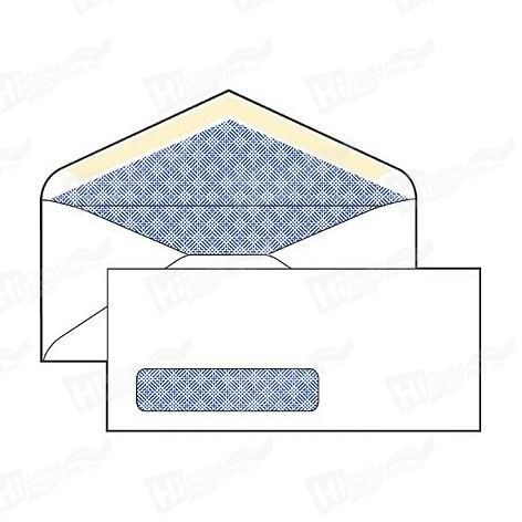 Security Envelopes With A Window