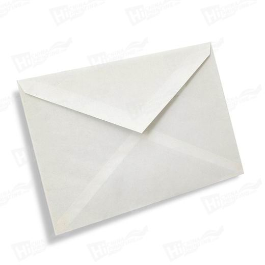 White Paper Envelopes Without A Window