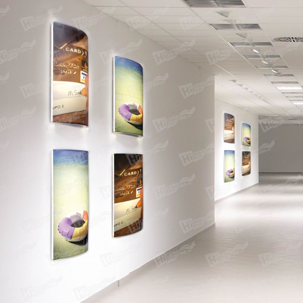 Curved Light Boxes