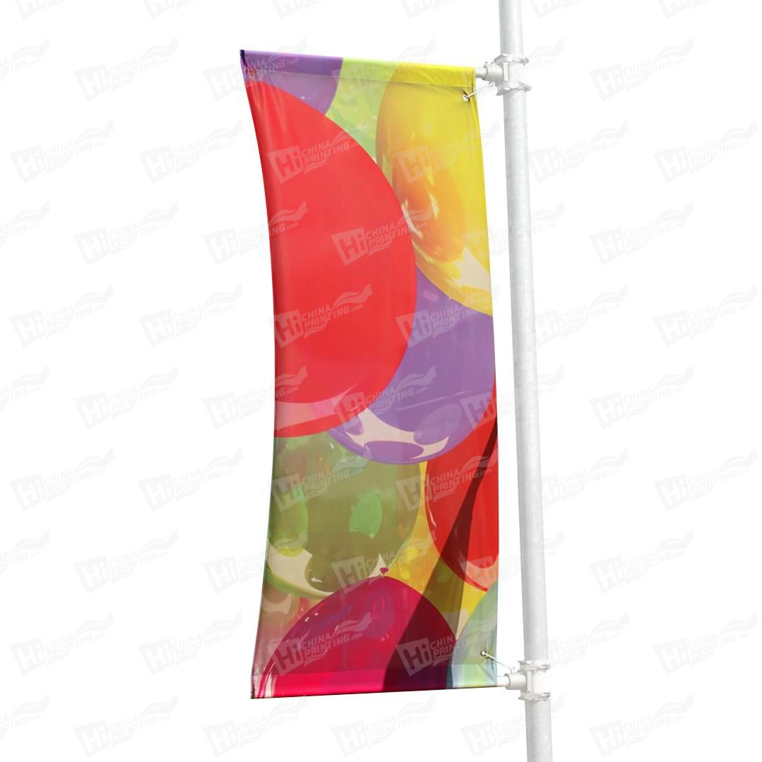 Lamppost Flags Printing
