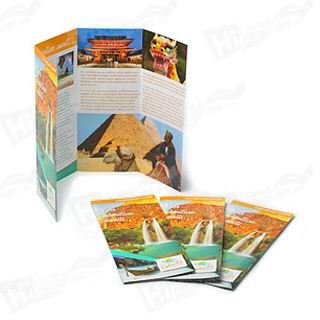 4 Panel Accordian Flyers Printing