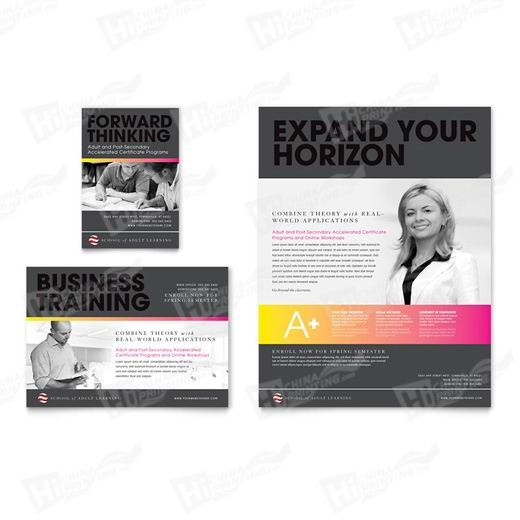 Adult Education Flyers Printing