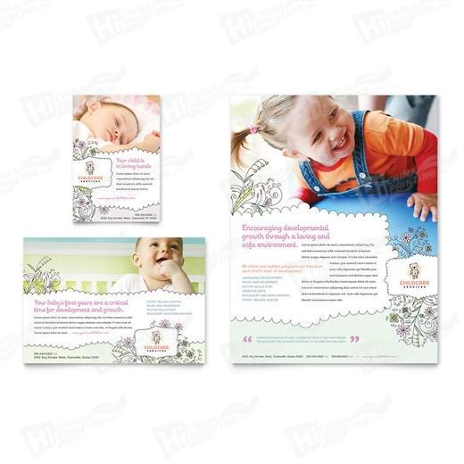 Baby & Child Day Care Flyers Printing