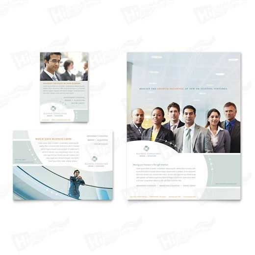 Business Consulting Flyers Printing