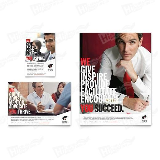 Business Executive Coach Flyers Printing
