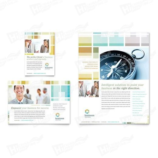 Business Solutions Consultant Flyers Printing