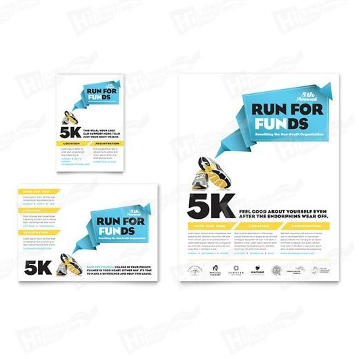 Charity Run Flyers Printing