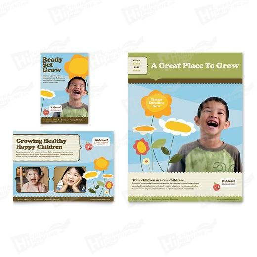 Child Development School Flyers Printing