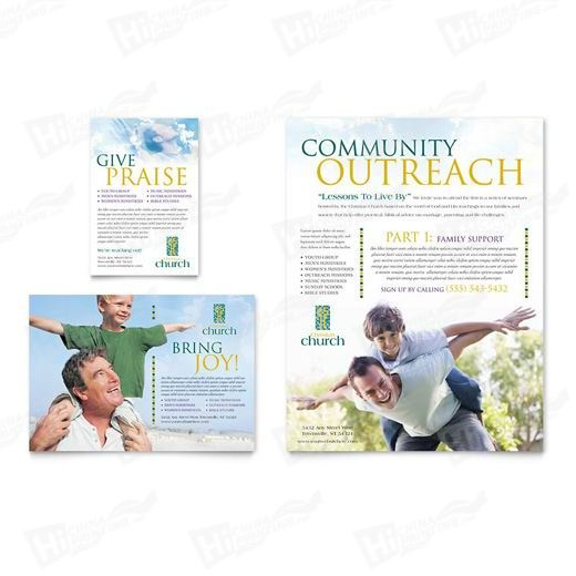 Christian Church Flyers Printing