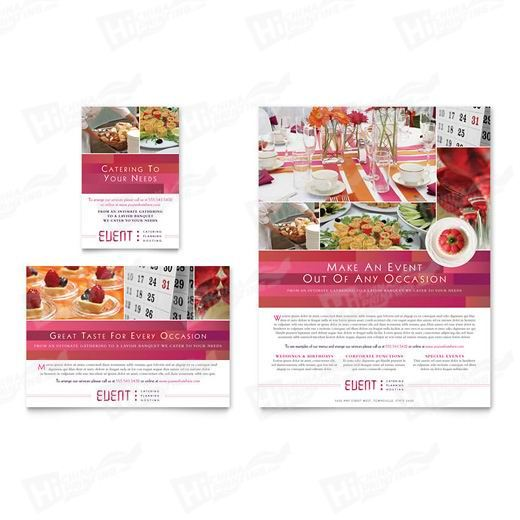 Corporate Event Planner & Caterer Flyers Printing