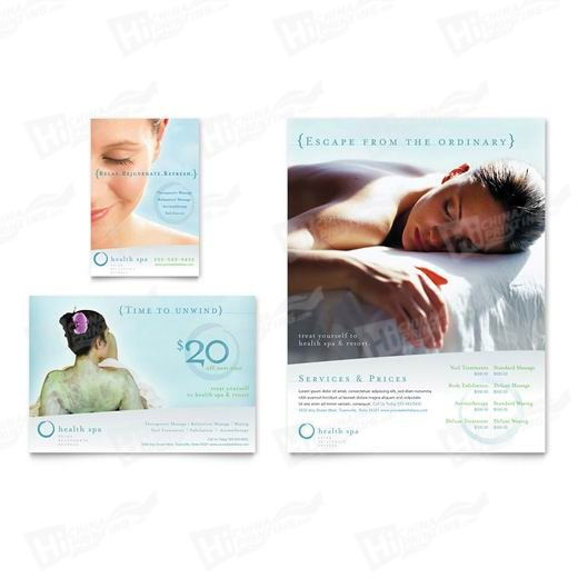 Day Spa & Resort Flyers Printing