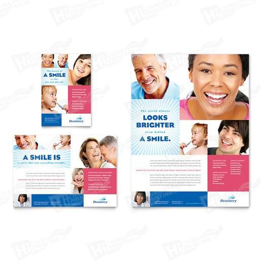 Family Dentistry Flyers Printing