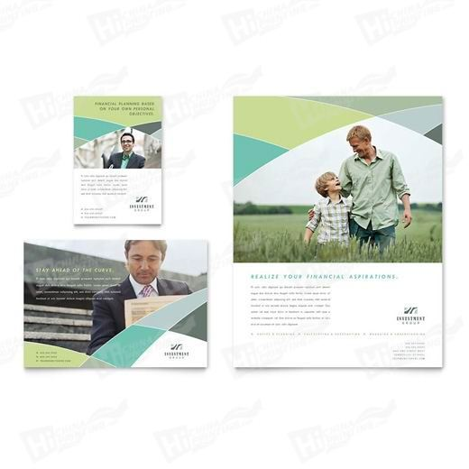 Financial Advisor Flyers Printing