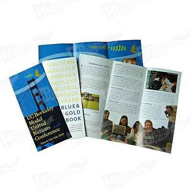 Flyers Printed With Glossy Lamination