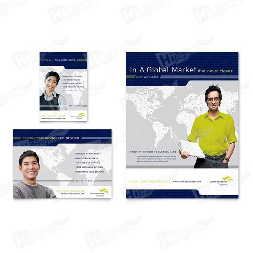 Global Communications Company Flyers Printing