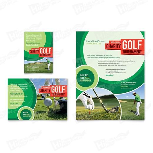 Golf Tournament Flyers Printing