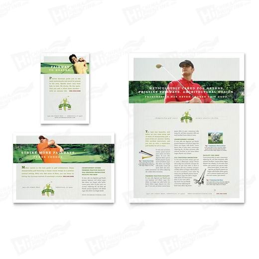 Golf Instructor & Course Flyers Printing
