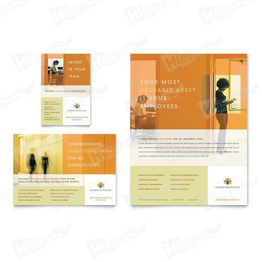 HR Consulting Flyers Printing