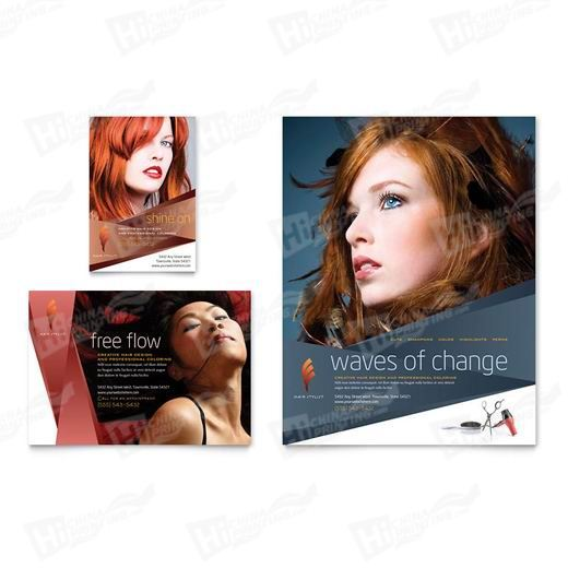 Hair Stylist & Salon Flyers Printing