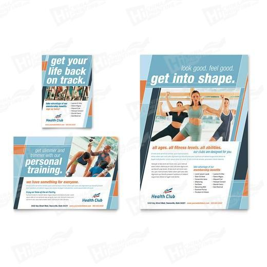 Health & Fitness Flyers Printing