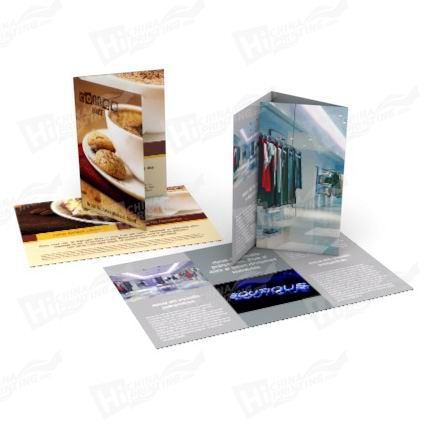 High Quality Flyers Printing With Glossy Paper