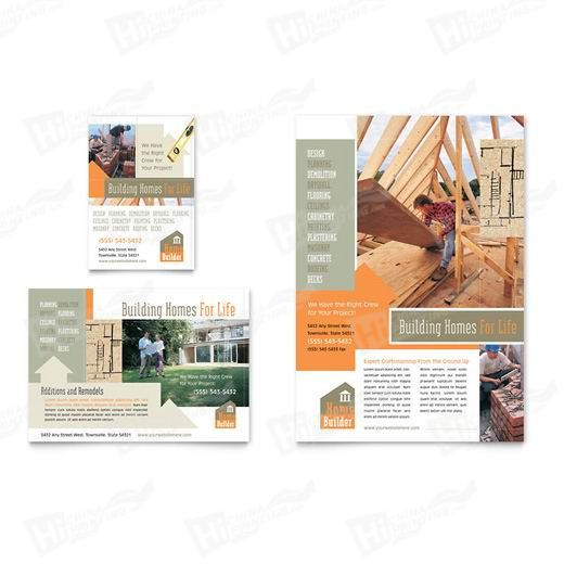 Home Building & Construction Flyers Printing