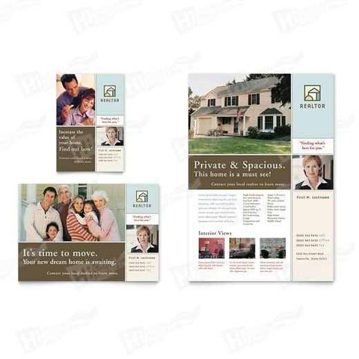 House for Sale Real Estate Flyers Printing