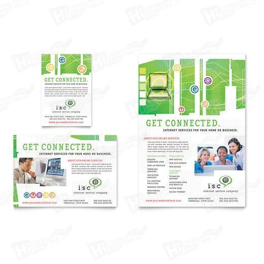 ISP Internet Service Flyers Printing