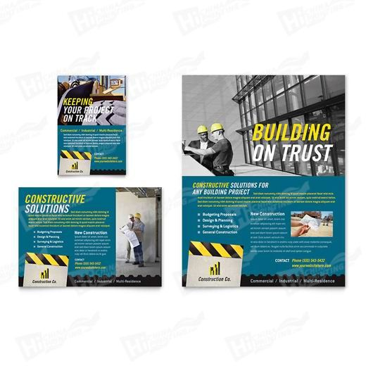 Industrial & Commercial Construction Flyers Printing