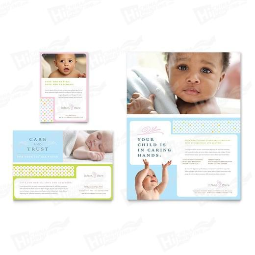 Infant Care & Babysitting Flyers Printing