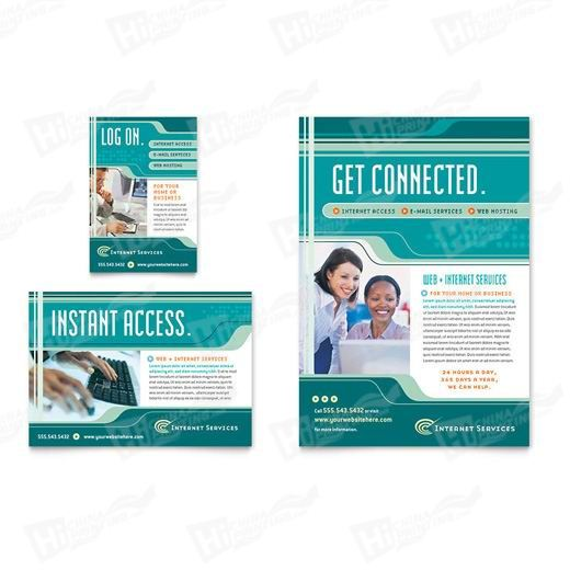 Internet Service Provider Flyers Printing