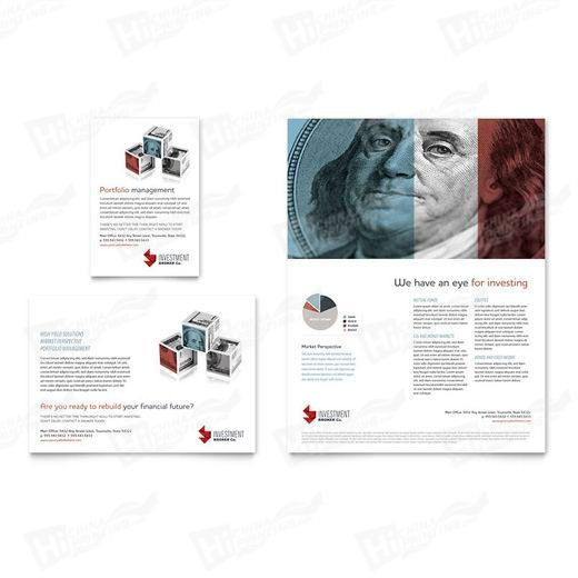 Investment Bank Flyers Printing
