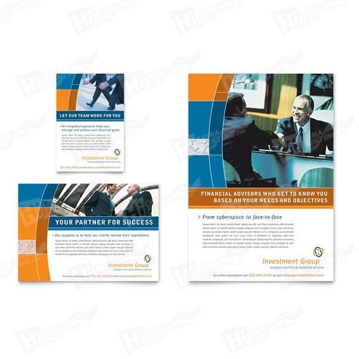 Investment Services Flyers Printing
