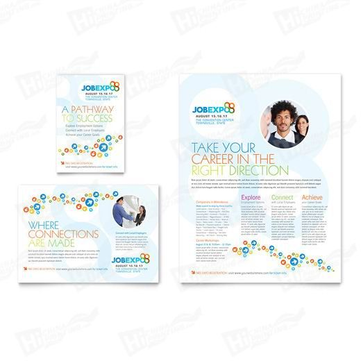 Job Expo & Career Fair Flyers Printing