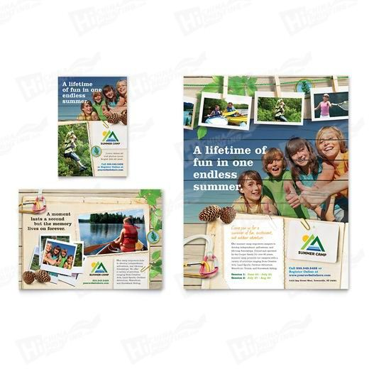 Kids Summer Camp Flyers Printing