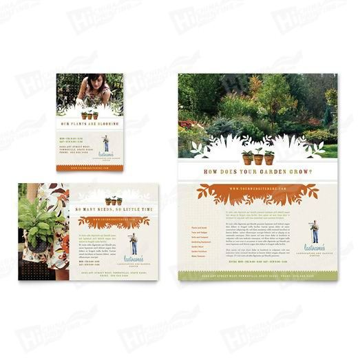 Landscape & Garden Store Flyers Printing