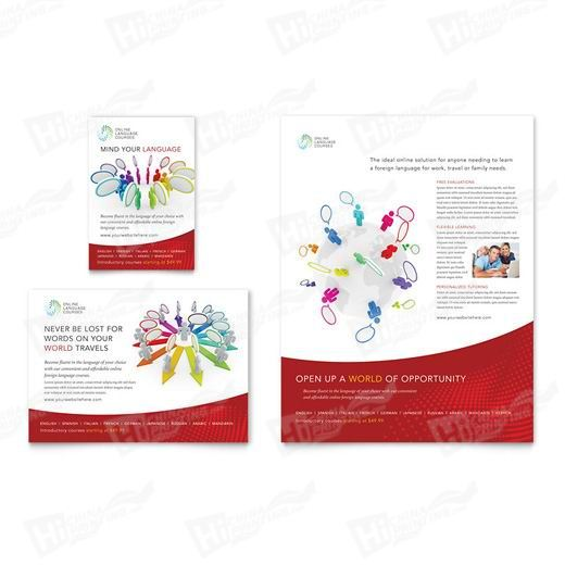Language Learning Flyers Printing
