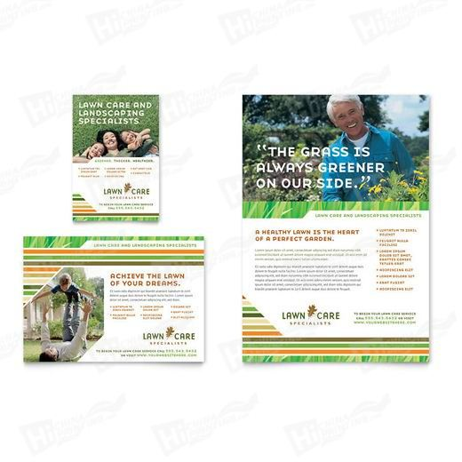 Lawn Care & Mowing Flyers Printing