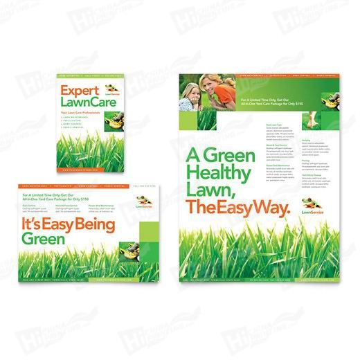 Lawn Maintenance Flyers Printing